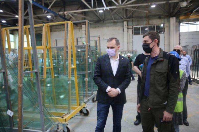 Артем Здунов посетил один из индустриальных парков Махачкалы