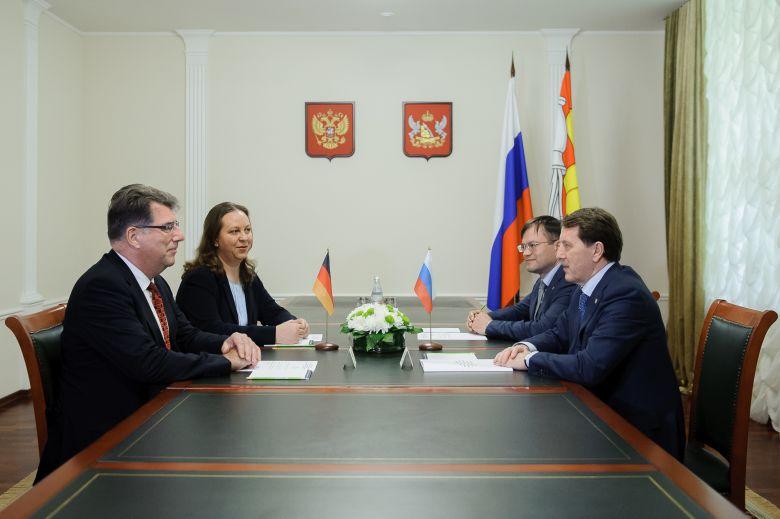 Немецкие компании ищут варианты для инвестиций в Воронежской области