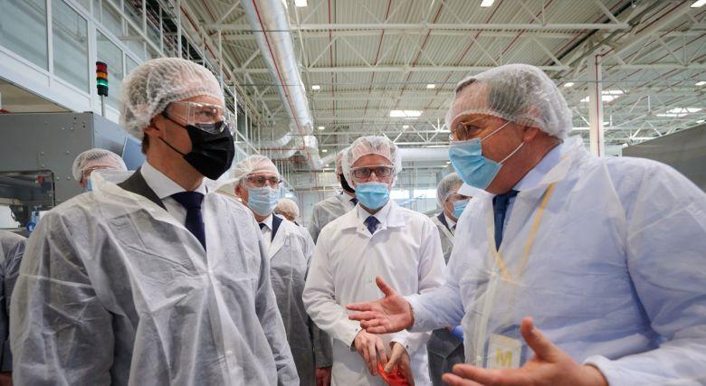 Денис Мантуров посетил индустриальный парк Ворсино