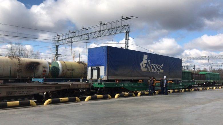 Индустриальный парк Узловая опробует инновационный вагон