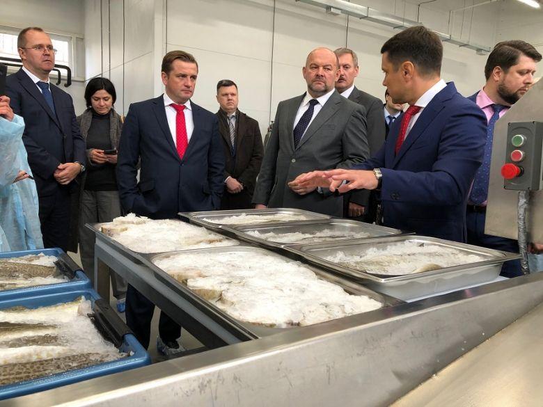 Открылся крупнейший рыбоперерабатывающий завод в Архангельске