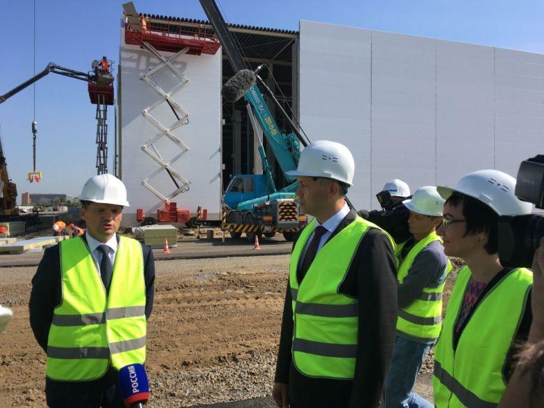 PNK Group возводит для Почты России логистический комплекс в Новосибирске