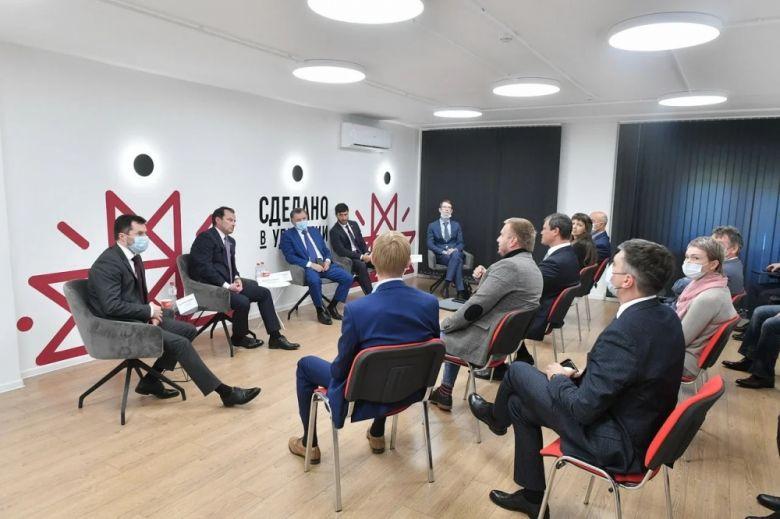 Поддержку бизнеса в Удмуртии предприниматели обсудили с представителями Совета Федерации