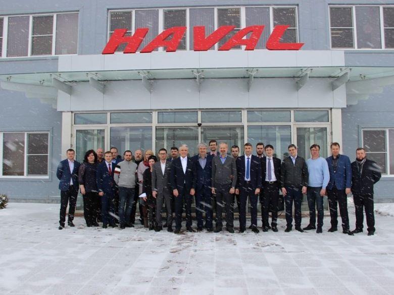 Резиденты ОЭЗ Узловая посетили тульский автозавод Haval