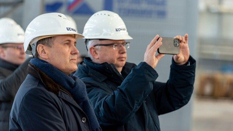 Руководители Сбербанка посетили индустриальный парк Станкомаш