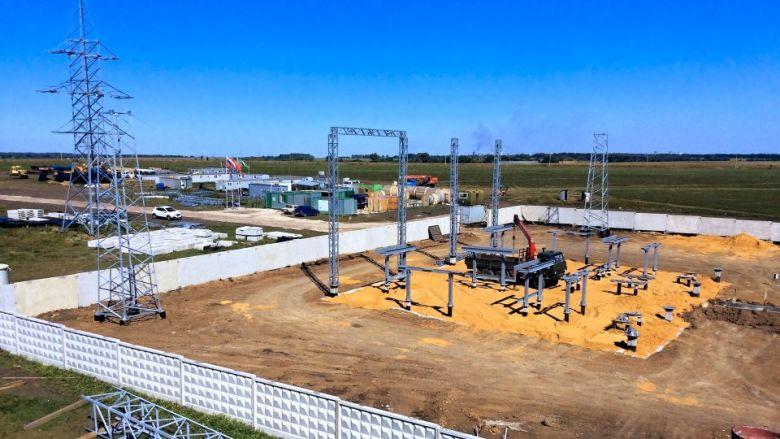 Увеличено электроснабжение ОЭЗ и индустриального парка Узловая