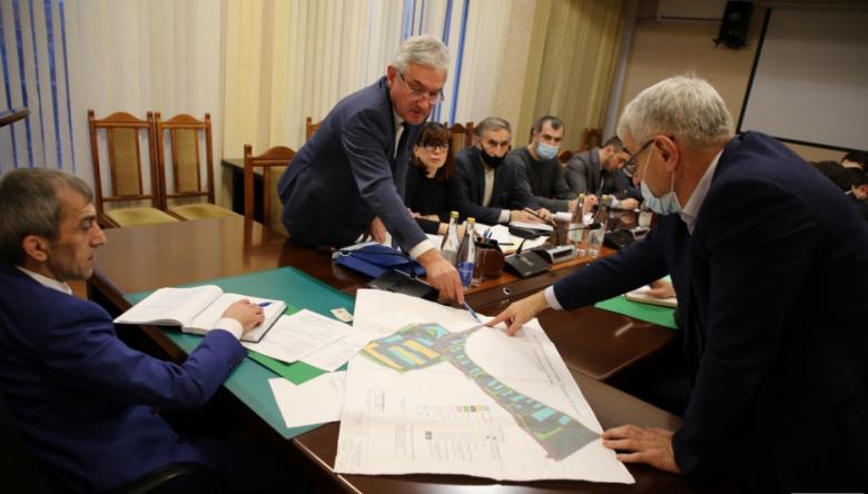 В Дагестане продолжается работа по развитию промпарка Дагдизель