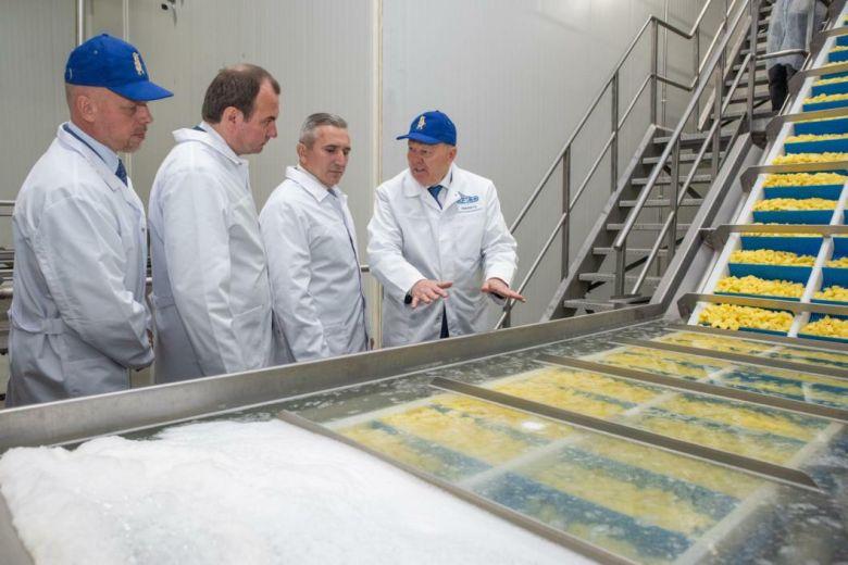 В индустриальном парке Боровский открылись несколько производств