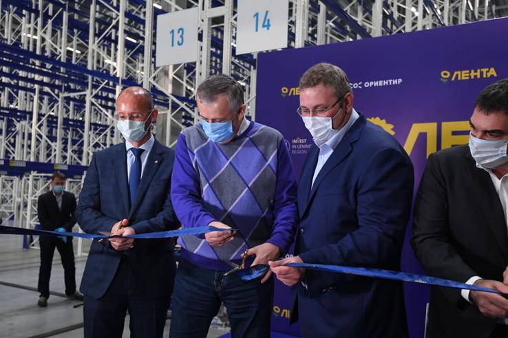 В индустриальном парке М10 открылся распределительный центр ЛЕНТА