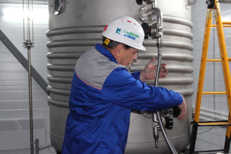 В индустриальном парке Уварово запустили производство белкового кормопродукта