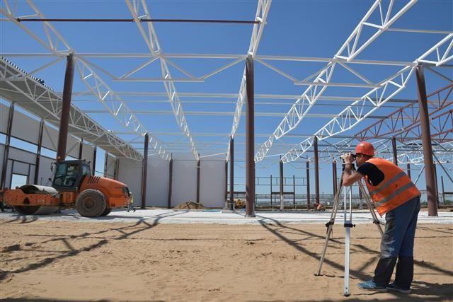 В ОЭЗ Тольятти строят здания для индустриального парка