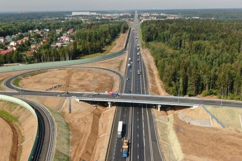 В подмосковном Солнечногорске открыли развязку с Ленинградским шоссе