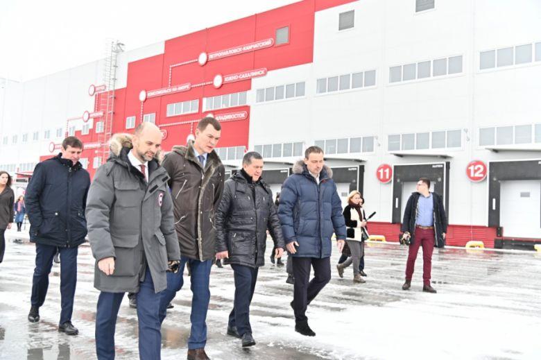 Юрий Трутнев посетил индустриальный парк Авангард