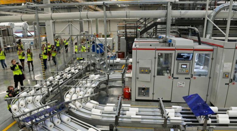 Завод Архбум Тиссью Групп открыли в индустриальном парке Ворсино