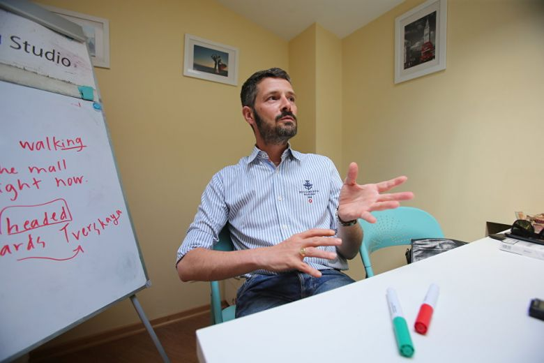 Итальянец о России: Здесь другой даже воздух
