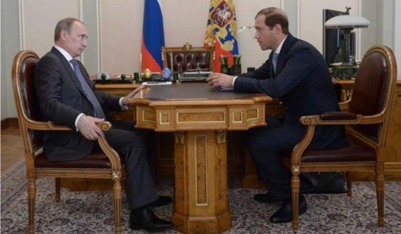 Владимир Путин встретился с министром промышленности и торговли Денисом Мантуровым